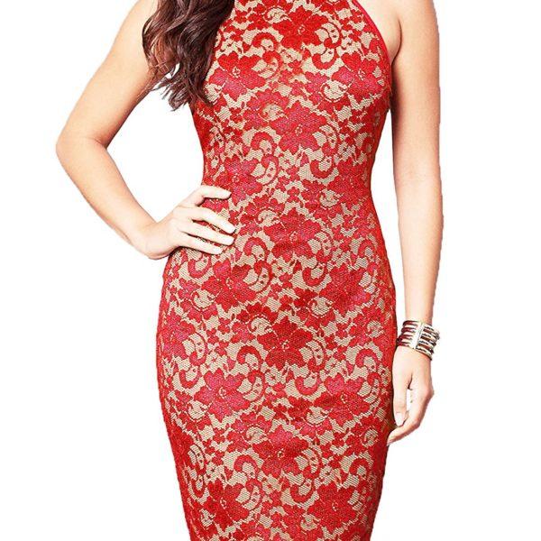 woosunze womens elegant sleeveless floral lace vintage